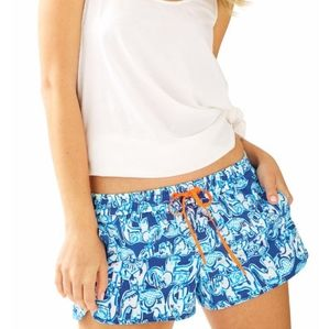 Lilly Pulitzer Luxletic Run Around Shorts Sz S